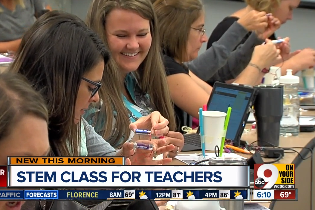 Next Generation STEM Classroom in the News
