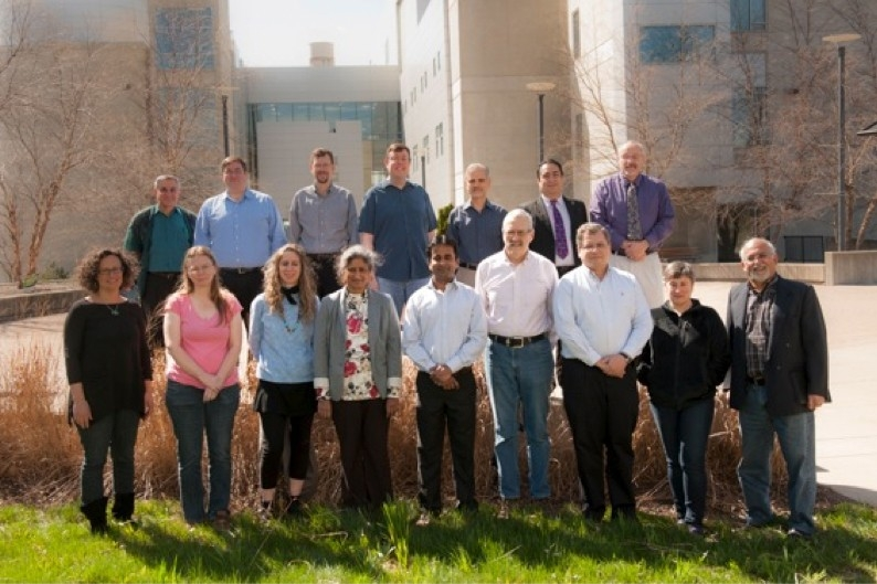 PGET department faculty group photo outside