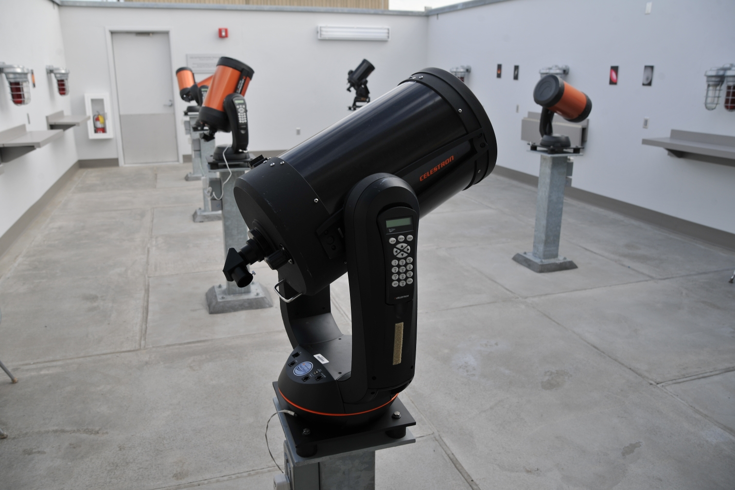 Telescopes in the NKU Observatory