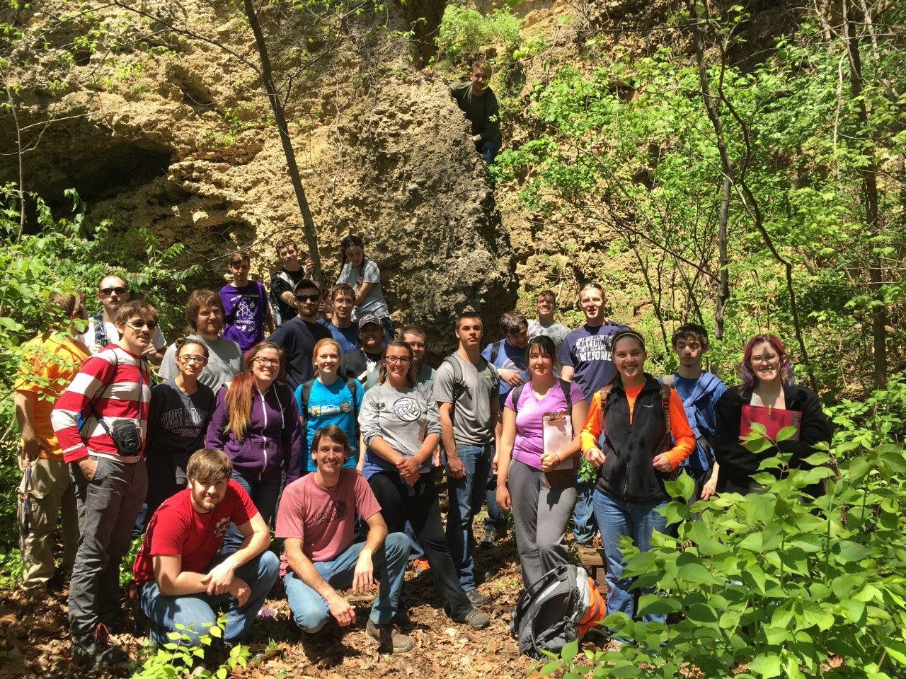 Glacial geology field trip