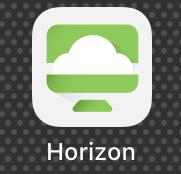VMware Horizon Client app.
