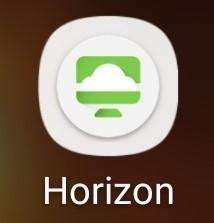 VMware Horizon Client on an Apple Device.