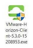 Windows VMware installation file.