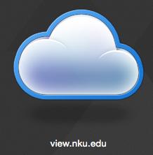 view.nku.edu icon in VMware.