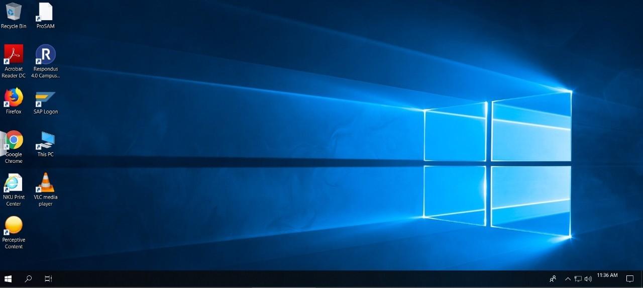 VMware View desktop.