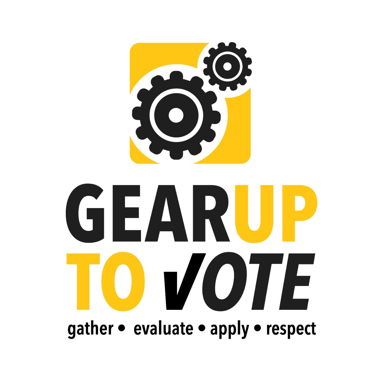 GEARUP to Vote logo