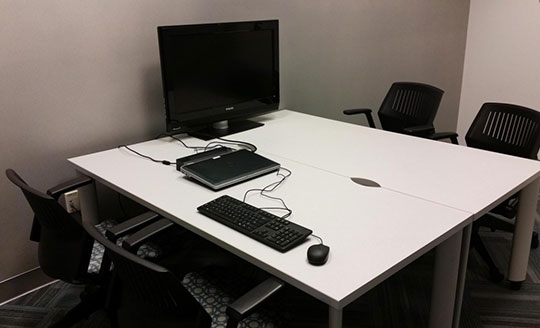 Small collaboration rooms