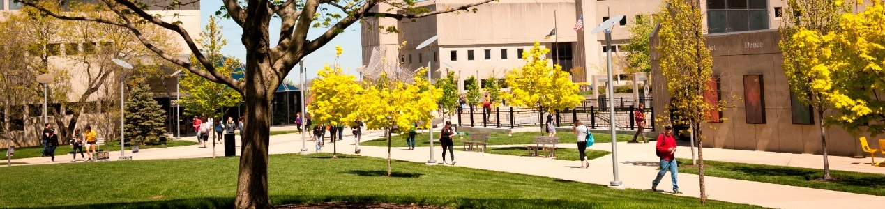 Students on NKU campus